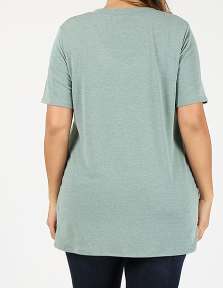"""Kami"" V Neck Top"