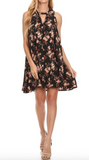 """Isabella"" Floral Sleeveless Dress"