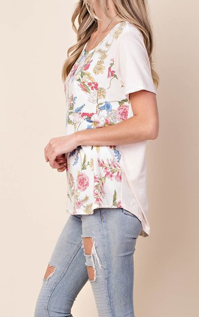 """Marie"" Floral Top"