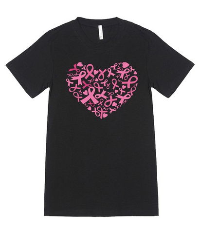 Pink Ribbon Tee (S-2XL)