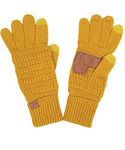 CC Gloves (Olive, Black, Mustard or Red)