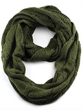 CC Infinity Scarf (Black, Mustard, Grey, Olive or Red)