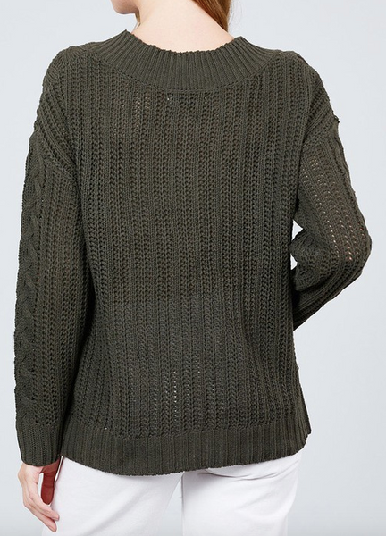 """Layla"" V Neck Sweater"