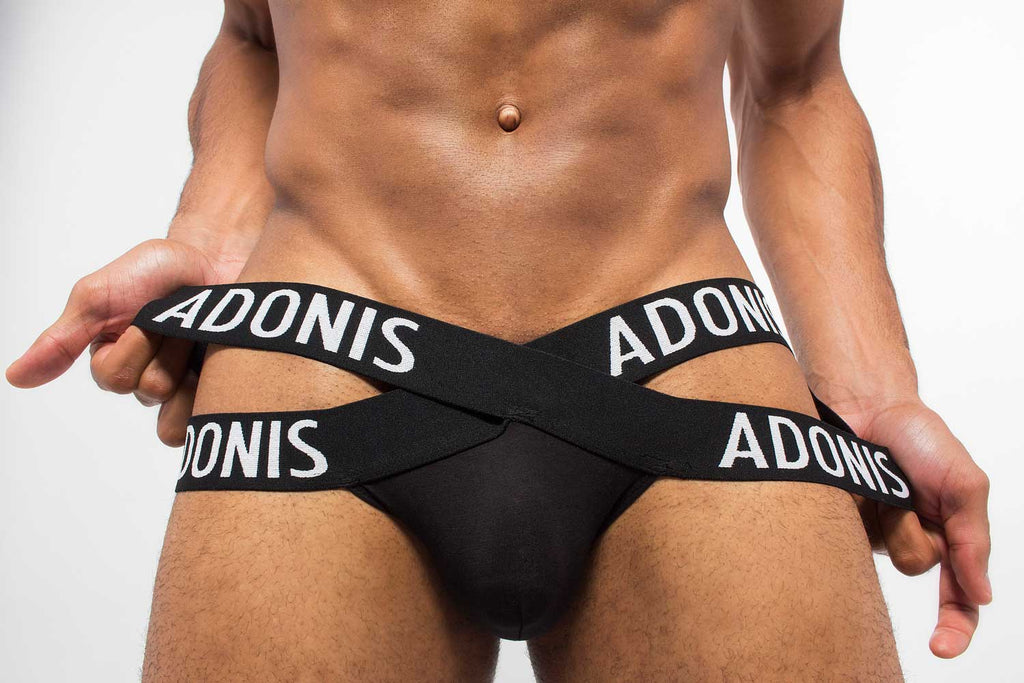 Men's-Jockstraps-Underwear-For-Gay-Man-X-black-Jockstrap