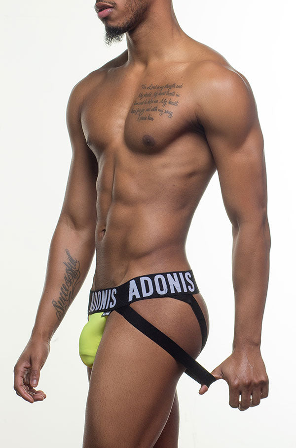 Double-Strap Yellow Jock/Thong
