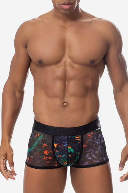 Sheer Garden of Snakes Boxer Trunk