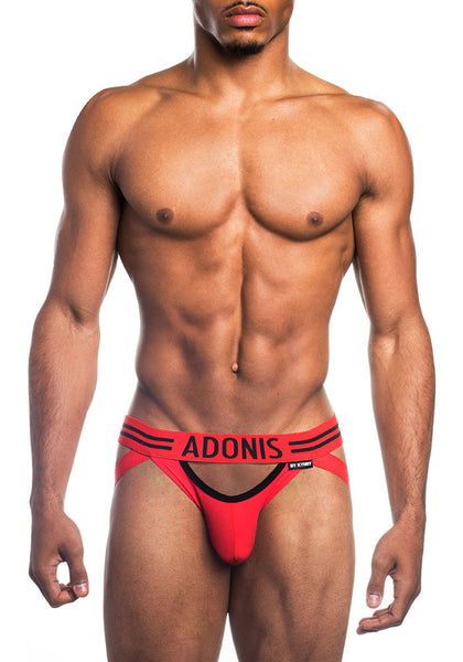 Peek-A-Boo Red Jock