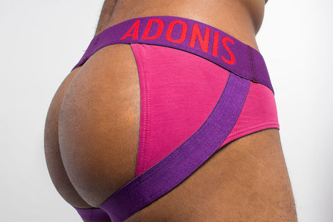 Bottomless Pink Brief