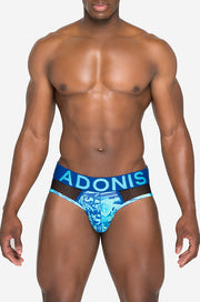 Garden of Eden Blue Brief