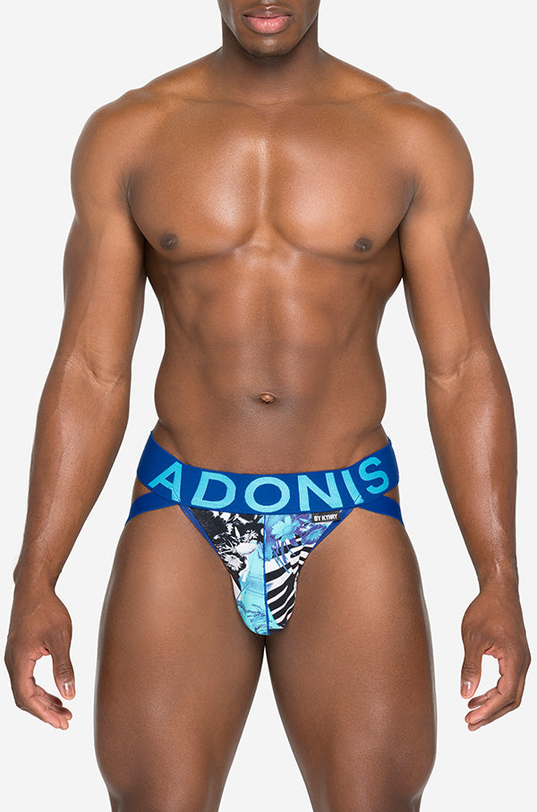 Garden of Eden Blue Jockstrap