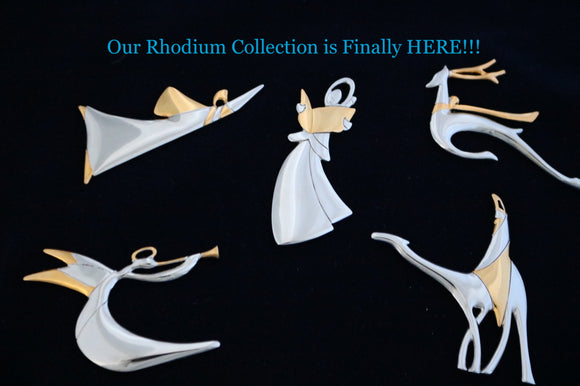 New Rhodium Ornament Collection