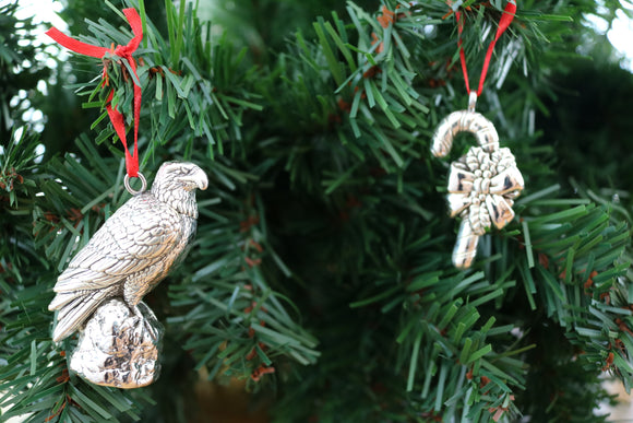 2017 Ornaments - The Eagle and Candy Cane - Cazenovia Abroad