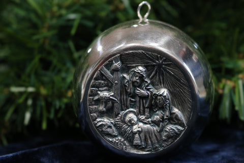 Nativity Ball - 99.5% Silver - Limited Quantity - Cazenovia Abroad