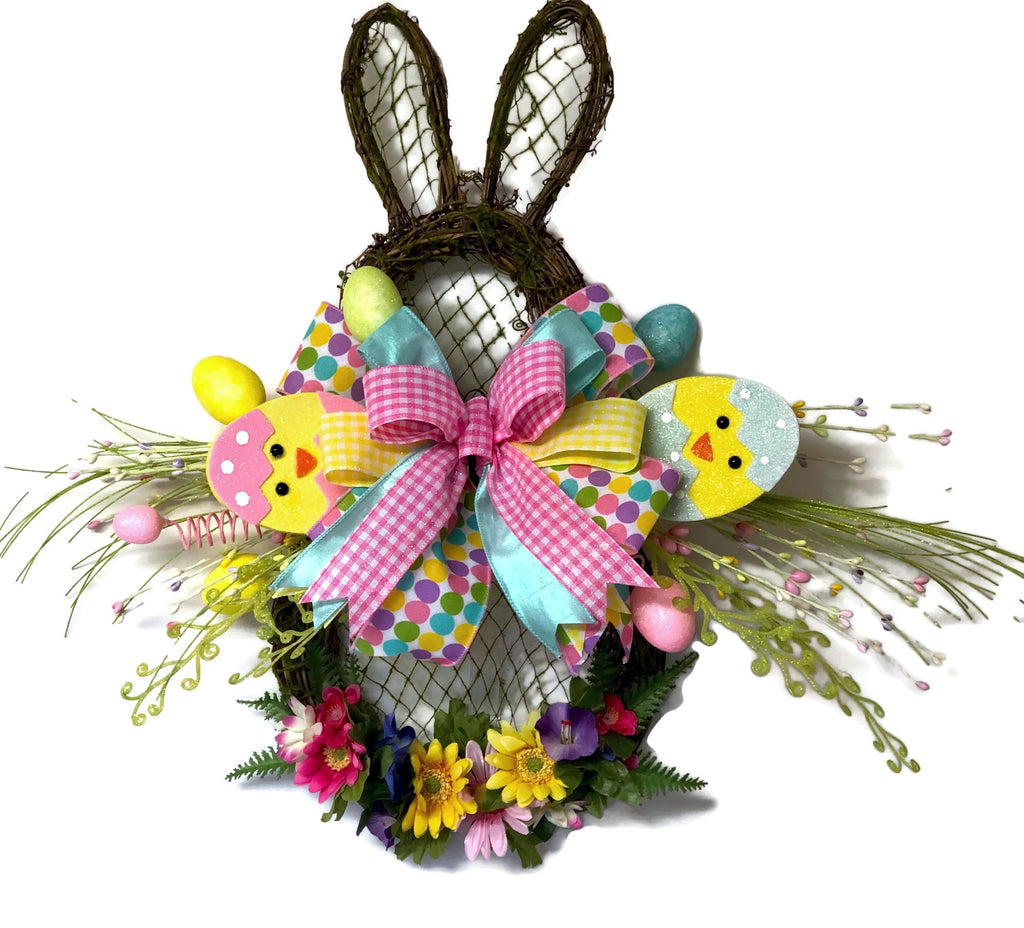 1 Easter Wreath Baby Shower Gifts Baby Gift Spring Wreath Nursery