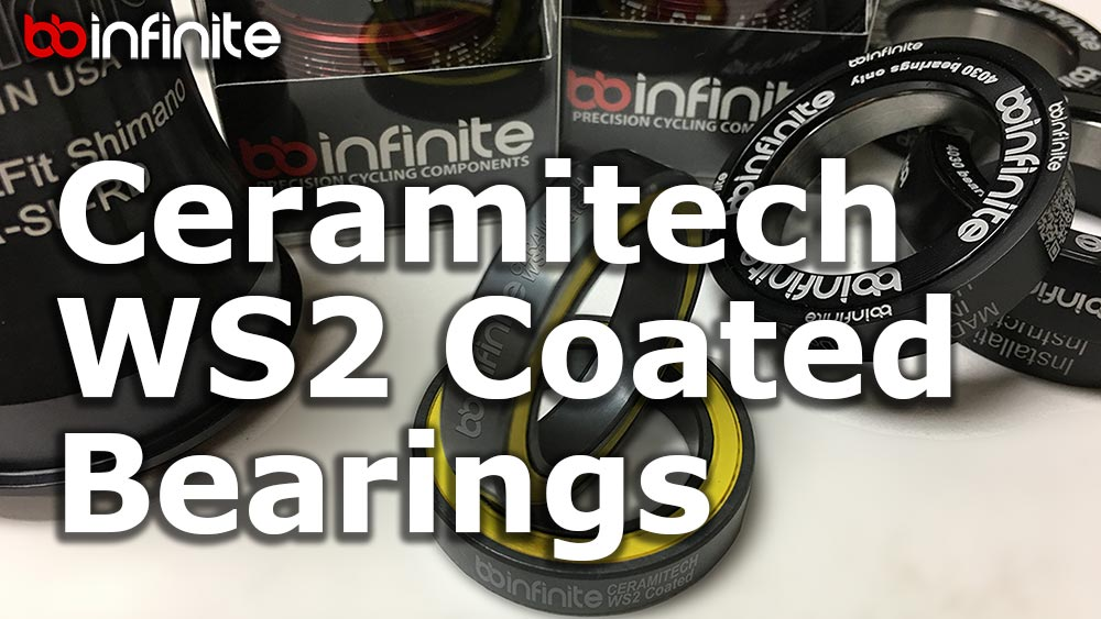 Ceramitech WS2 Coated Bearings Are Here!