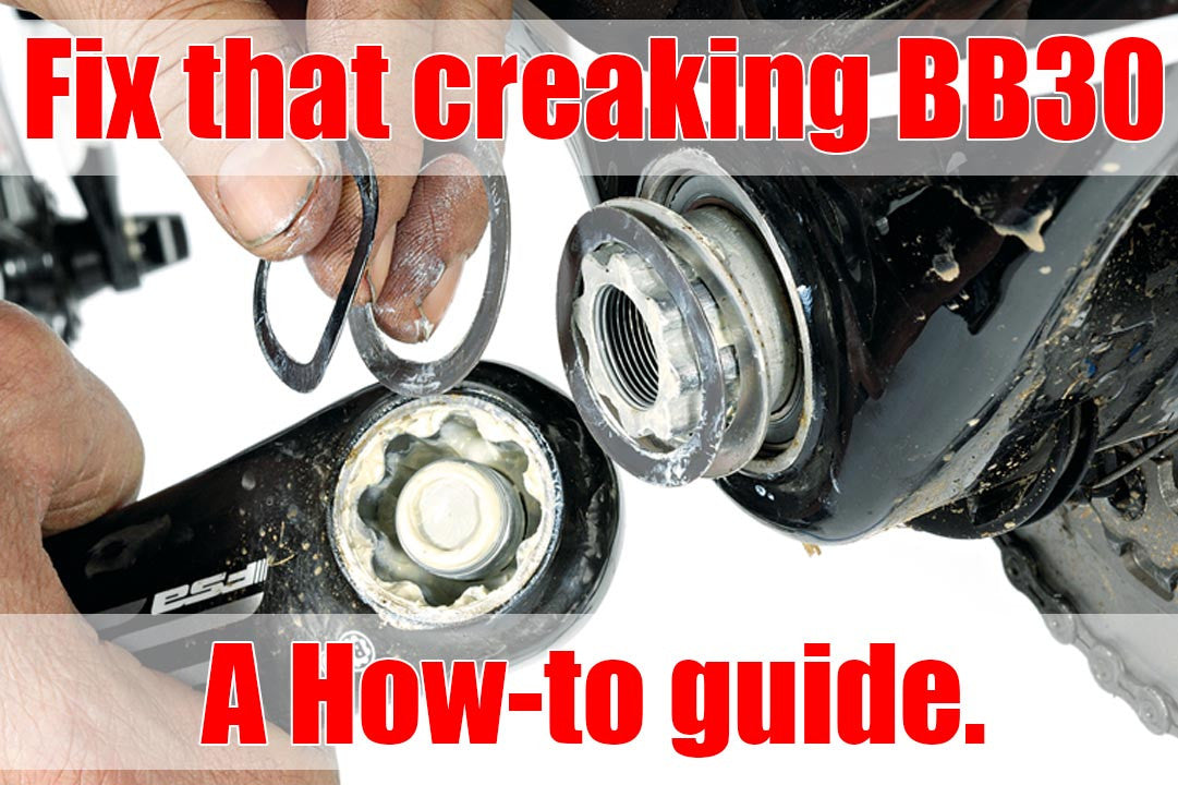 Fix creaking bottom bracket