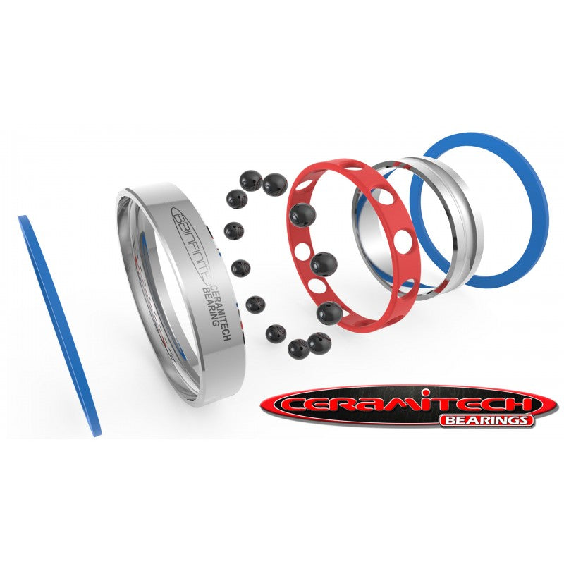 Ceramitech Bearings For BBInfinite Direct Fit Campagnolo Shimano GXP