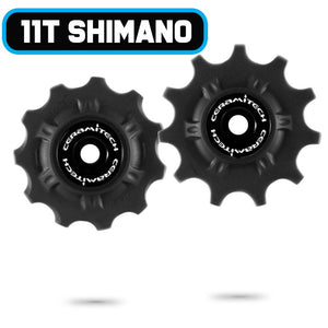 Shimano 10 / 11spd MTB Ceramitech Pulley Set (set of 2)