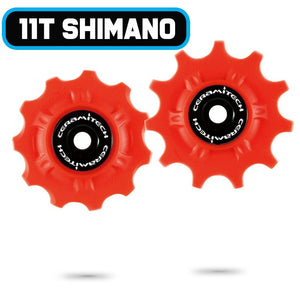 Shimano 10 / 11spd Road Ceramitech Pulley Set (set of 2)