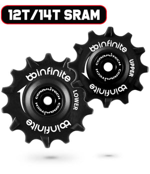 Sram Eagle MTB 12T/14T Ceramitech Pulley Set (set of 2)