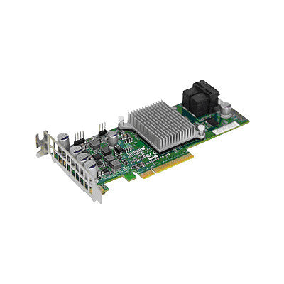 Supermicro AOC-S3008L-L8E 8 Internal Ports Low-Profile 12Gb s 122HDD