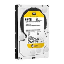 "WD Re 3.5"", 6TB, SATA3, 6Gb/s, 7200RPM, CACHE 128MB, 512E  WD6001FSYZ"