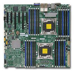 Supermicro X10DRI-LN4+ Dual LGA2011 | C612| SATA3&USB3.0 | V&4GbE | Enhanced EATX Server Motherboard