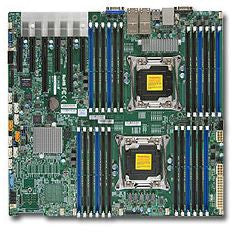 Supermicro X10DRI-T4+-O Dual LGA2011| C612| SATA3&USB3.0|  V&4GbE | Enhanced EATX Server Motherboard