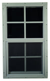 "12"" W  x 18"" H Shed Window"