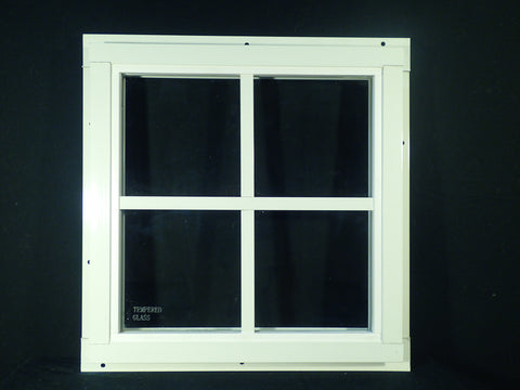 "12"" x 12"" Square Shed Window"
