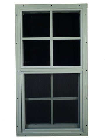 "18"" W x 27"" H Shed Window"