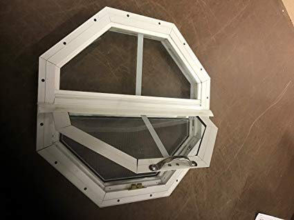 Octagon Tilt-Out Windows