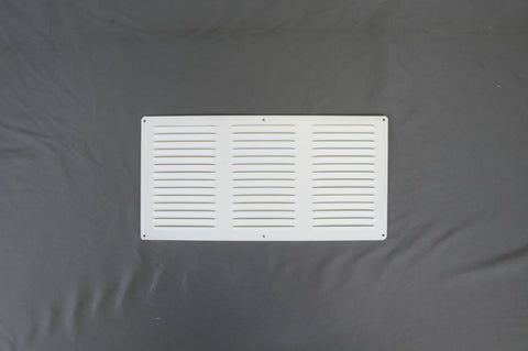 "Louvered Exhaust Vent - 8"" X 16"""