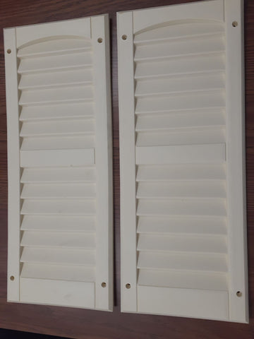 "SHED SHUTTER 9""x22"" - pair"