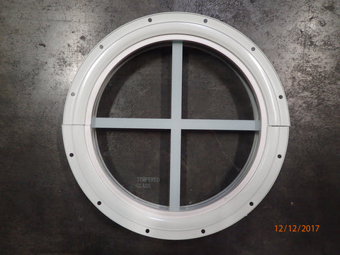 "10"" Round Shed Window"