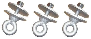 Tire Swing Eyebolts (3)