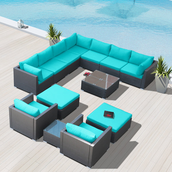 Modenzi G13 MODULAR PATIO FURNITURE SECTIONAL (UNASSEMBLED)