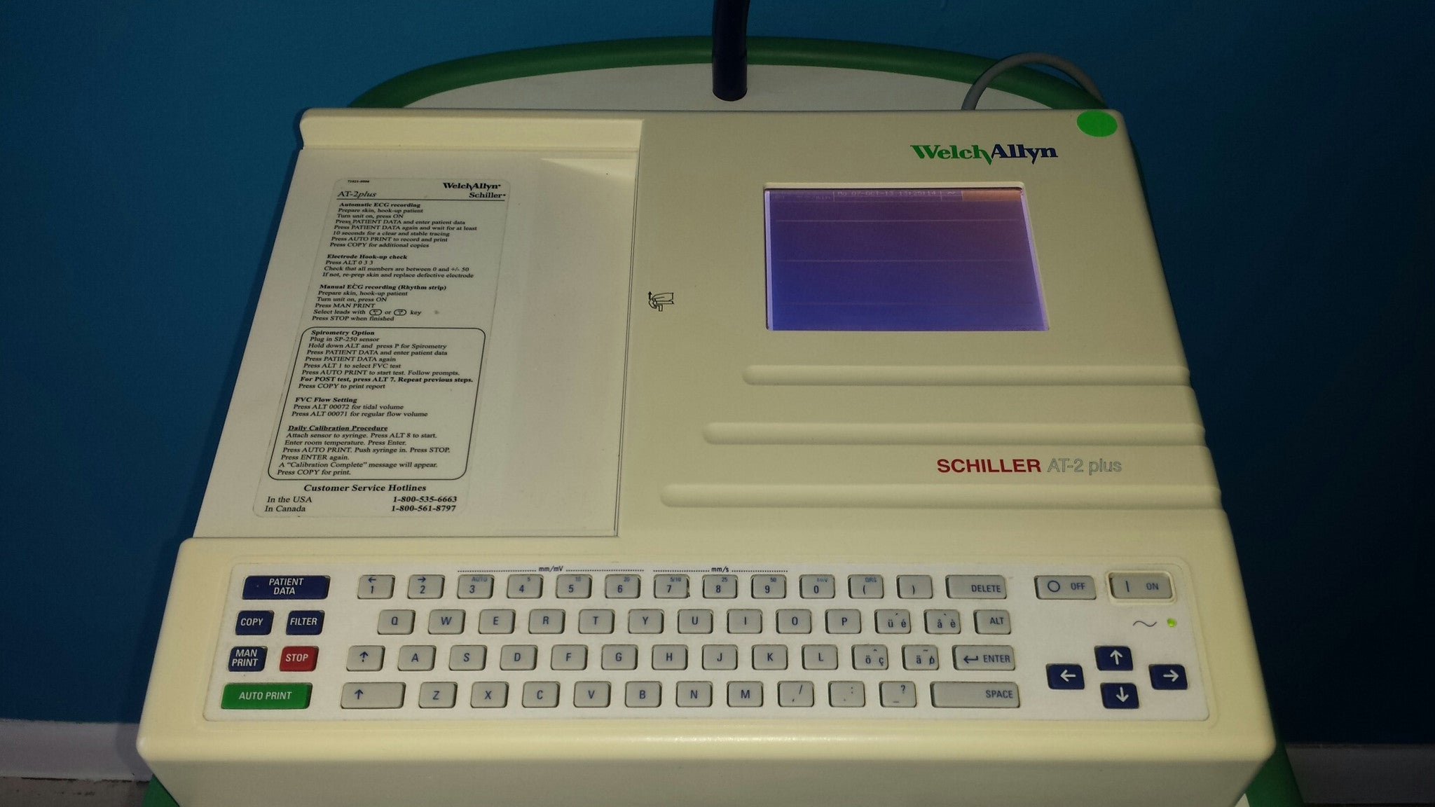 Schiller At 2 Plus Interpretive Ekg Machine New And Used We Buy Sell And Repair Medproshop