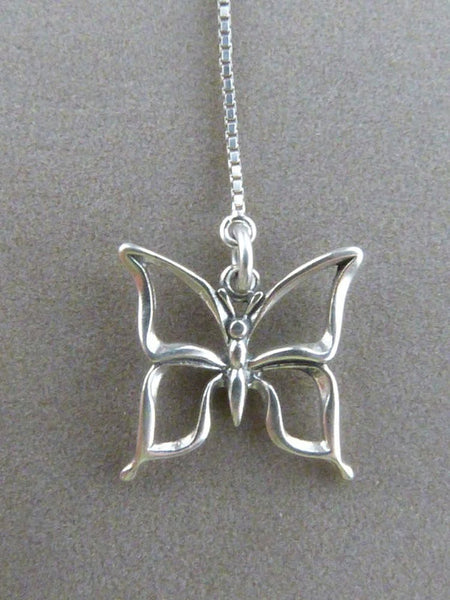 Sterling Silver Butterfly Threader