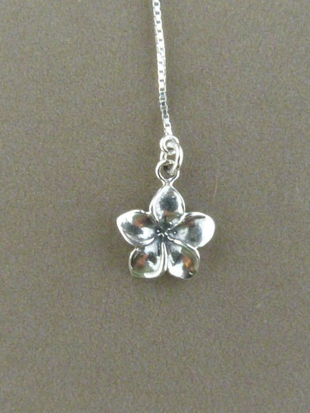 Plumeria Sterling Silver Threader
