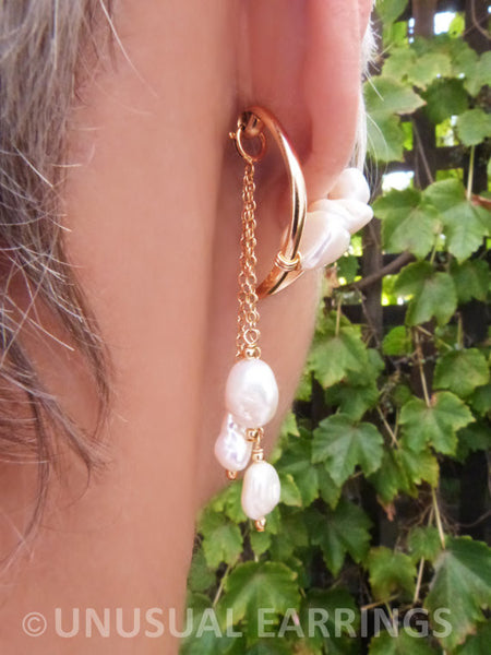 Perris - Baroque Pearl with dangle