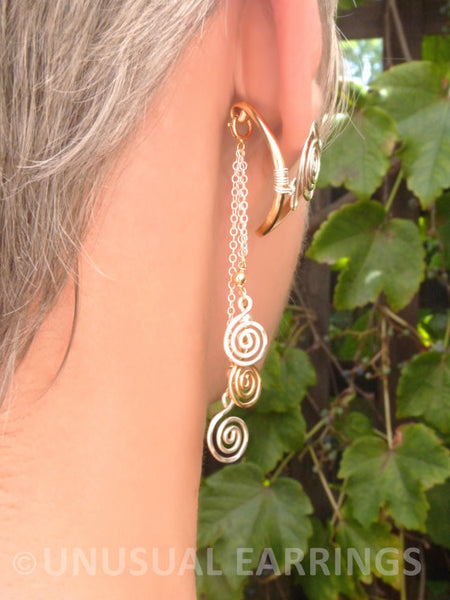 Shasta - Mixed Metal with dangle