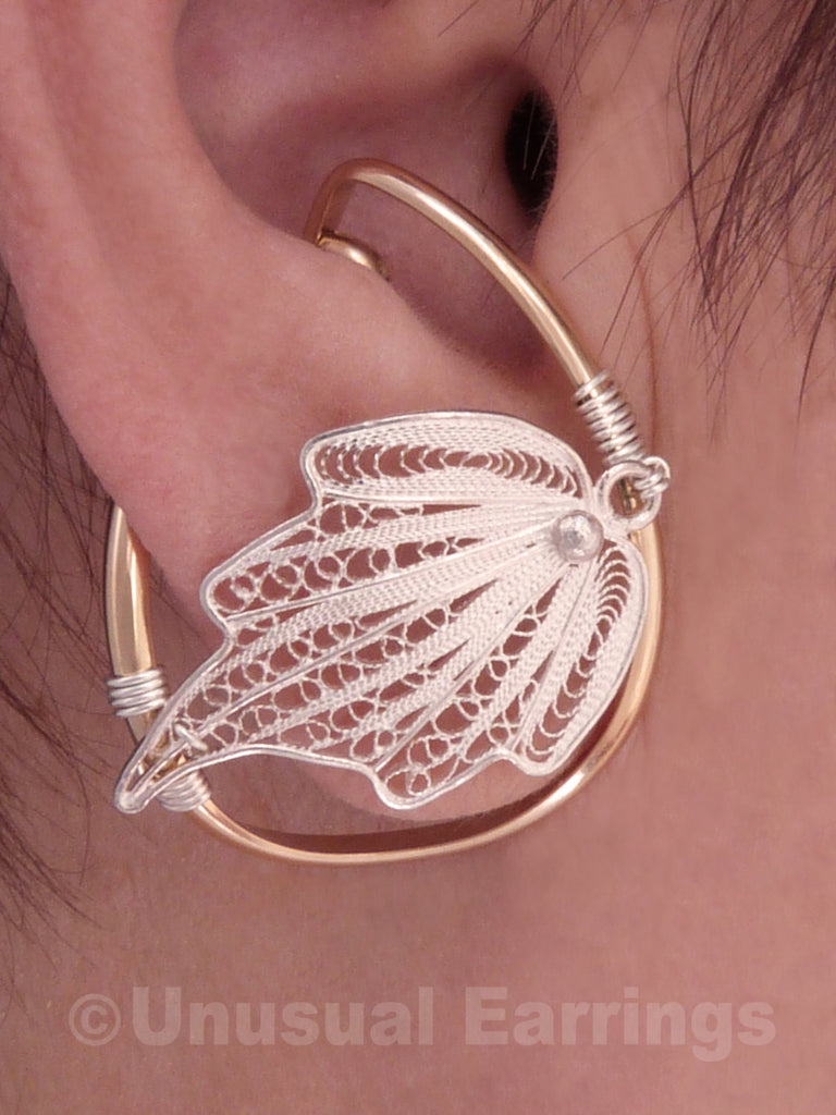 Tahoe - Filigree Leaf Mixed Metal