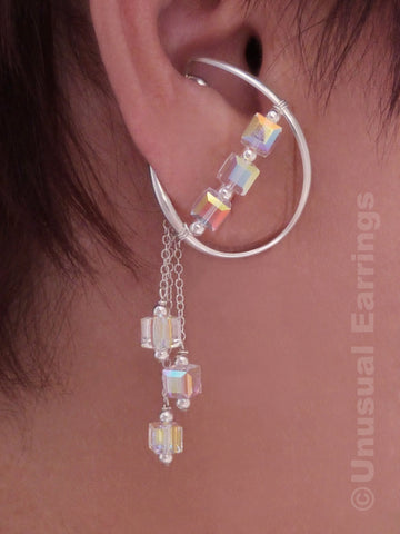 Malibu - Crystal Shimmer with dangle