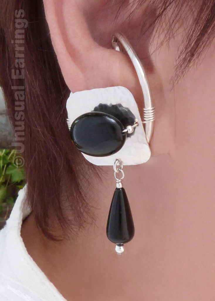 Solana - Sterling Silver with Black Onyx