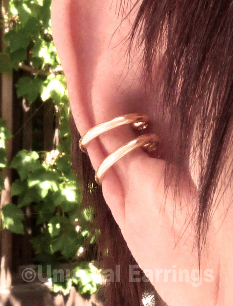 Yolo - slim gold double cuff