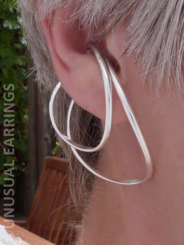 Santa Fe - Large Double Sterling Silver