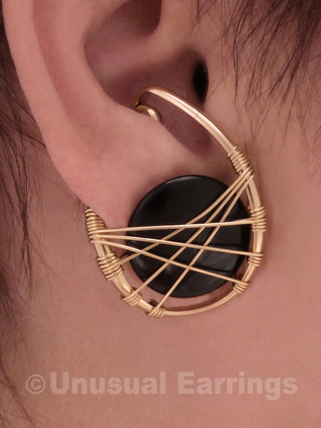Sierra - Gold Filled with Black Onyx
