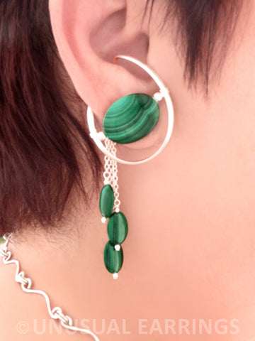 Ahwahnee with dangle - Malachite