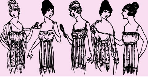 A History of Support: Women's Lingerie Through The Years